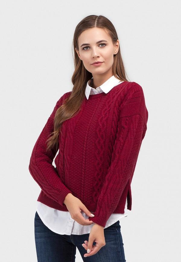 Джемпер  - бордовый цвет