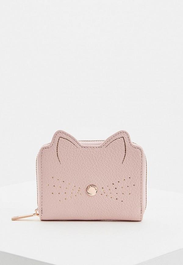Кошелек  розовый цвета
