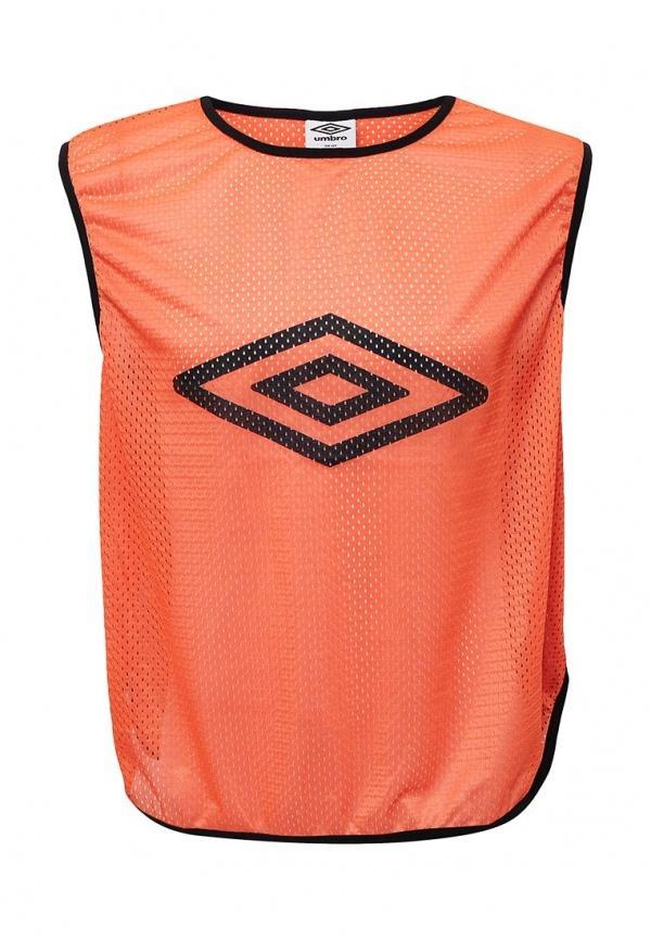 Спортивная майка  оранжевый цвета