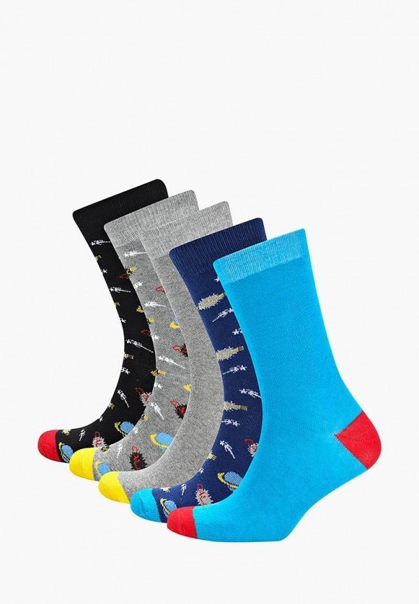 Носки  - голубой, серый, синий, черный цвет