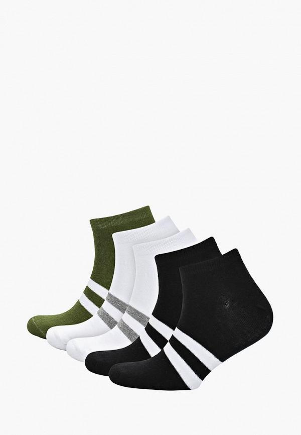 Носки  - белый, зеленый, черный цвет
