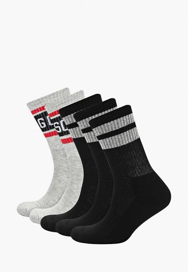 Носки  - серый, черный цвет