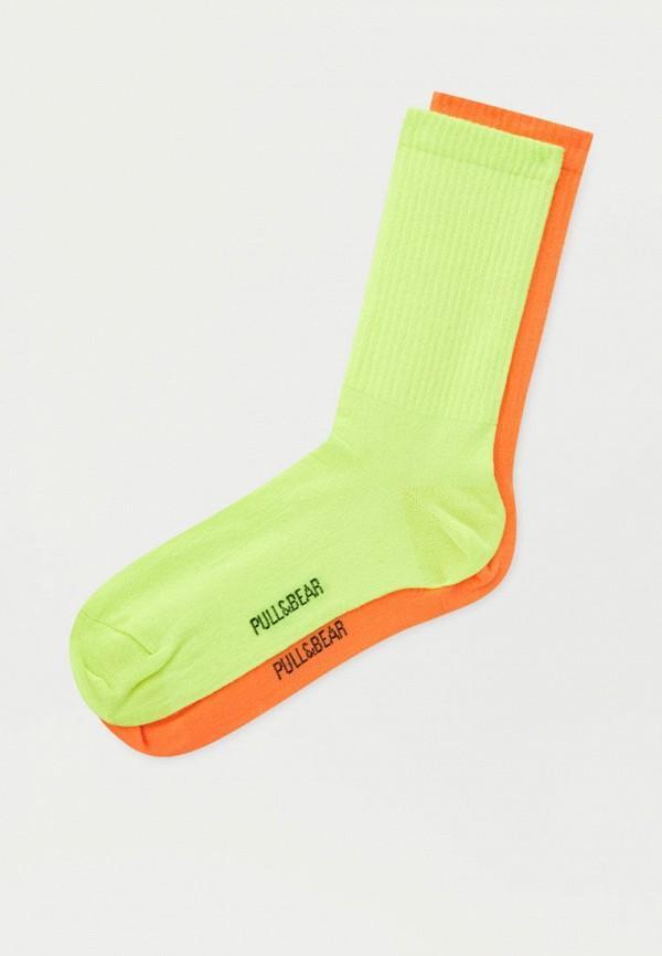 Носки  - желтый, оранжевый цвет