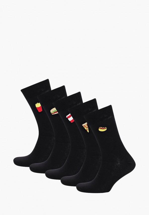 Носки  - черный цвет