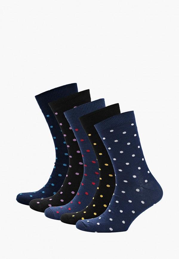 Носки  - синий, черный цвет