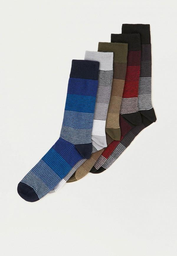 Носки  - белый, красный, синий, хаки, черный цвет