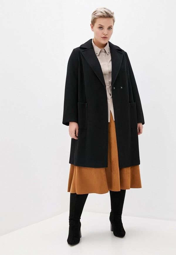Пальто  - черный цвет
