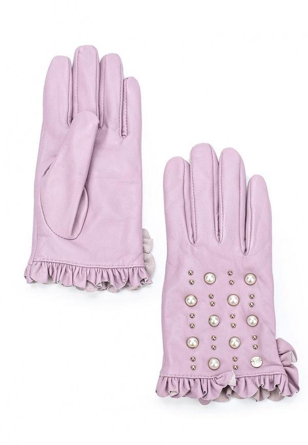 Перчатки  - фиолетовый цвет