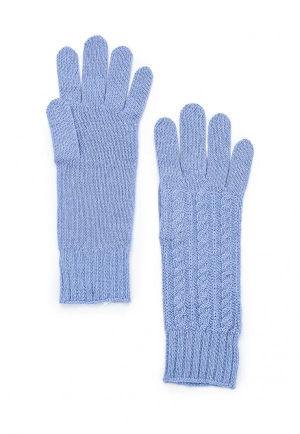 Перчатки  голубой цвета