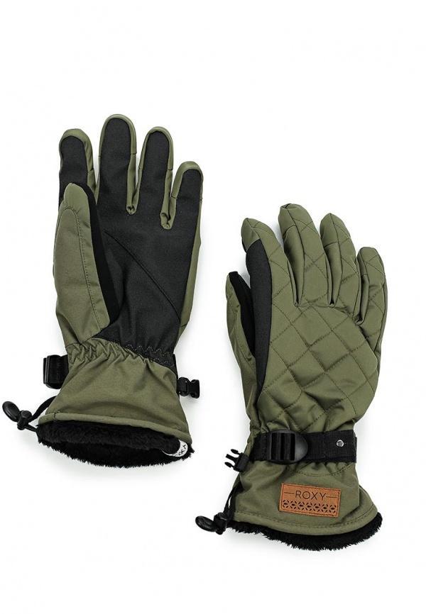 Перчатки  зеленый цвета
