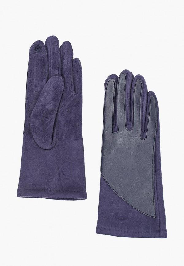 Перчатки  синий цвета