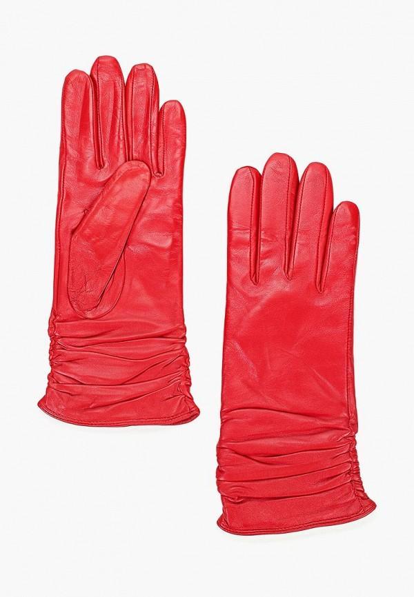 Перчатки  красный цвета