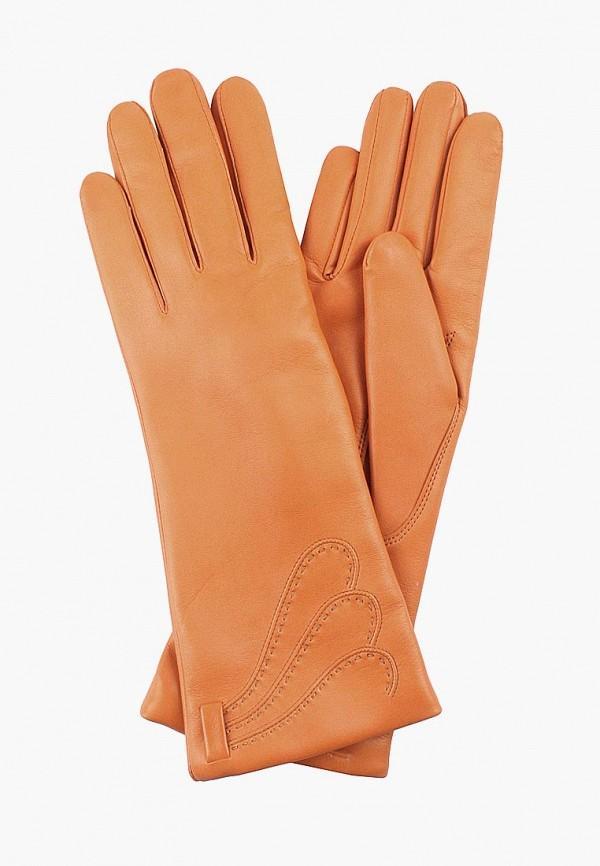 Перчатки  оранжевый цвета