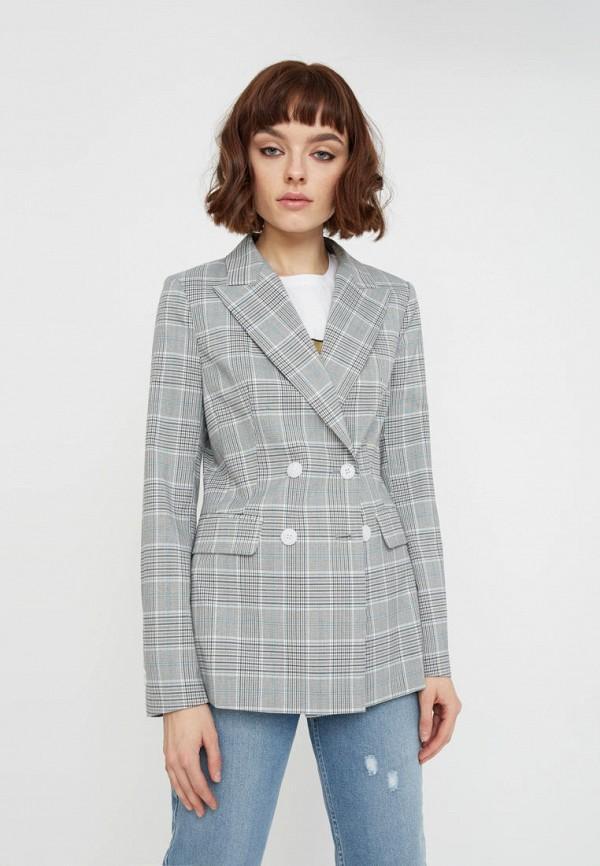 Пиджак  - серый цвет