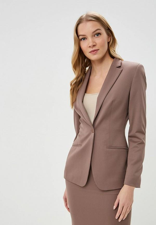 Пиджак  - коричневый цвет