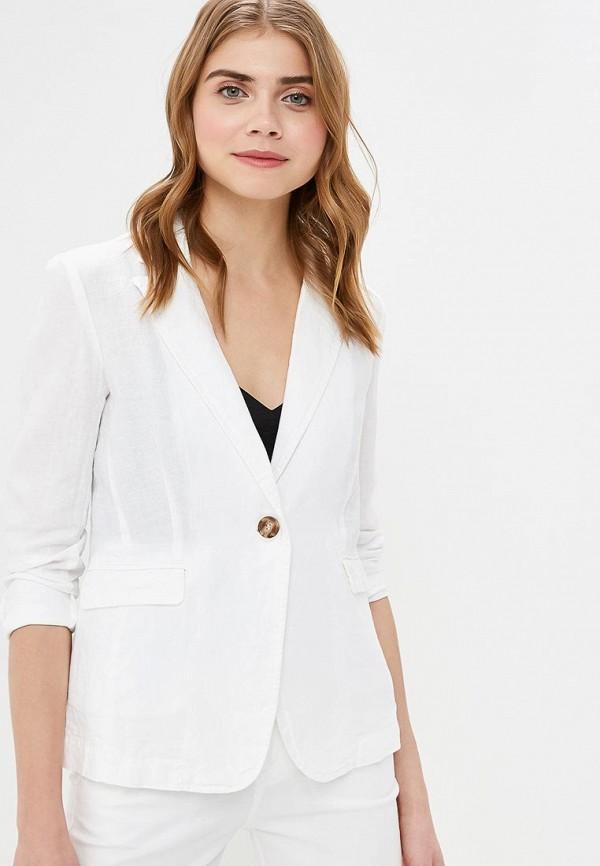 Пиджак  белый цвета