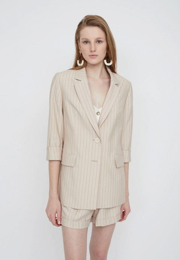 Пиджак  - бежевый цвет
