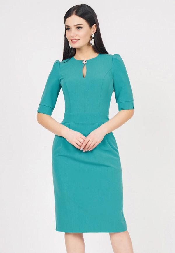 Платье  - бирюзовый цвет