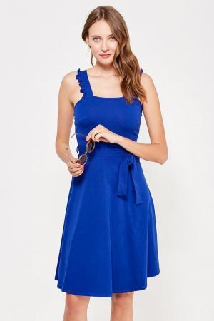 Сарафан  синий цвета