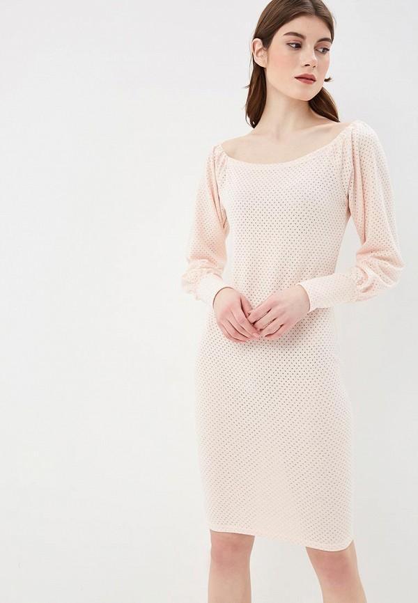 Платье  коралловый, розовый цвета