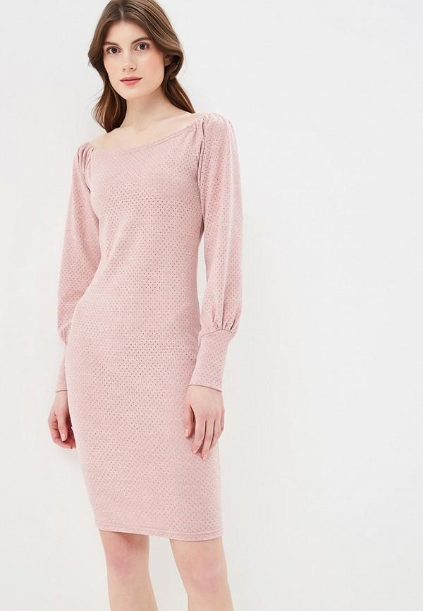 Платье  - розовый, фиолетовый, черный цвет