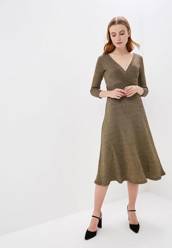 Платье  - золотой цвет