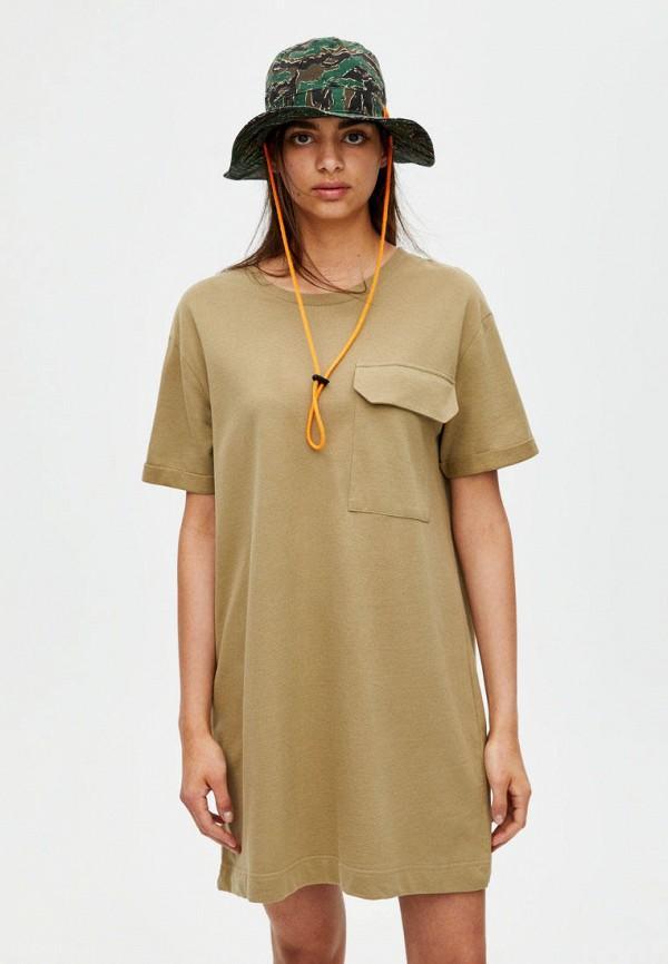 Платье  - хаки цвет