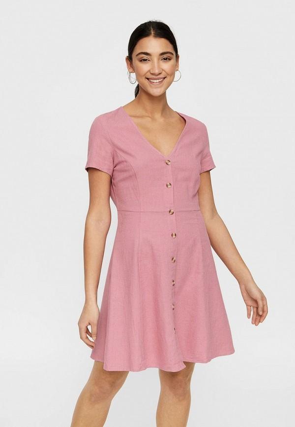 Платье  - розовый цвет