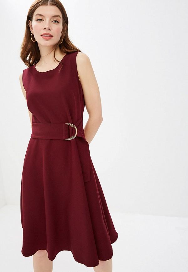 Платье  - бордовый цвет