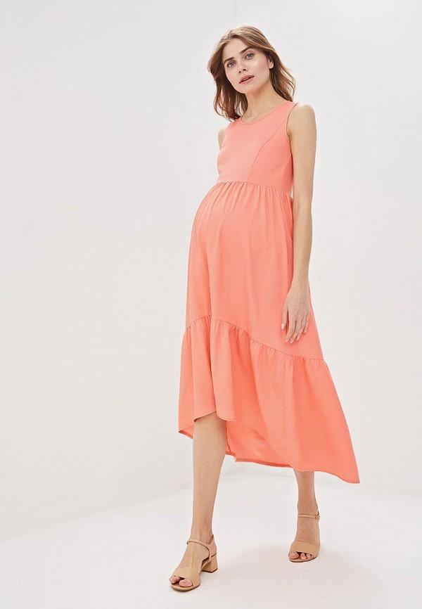 Платье  - коралловый цвет