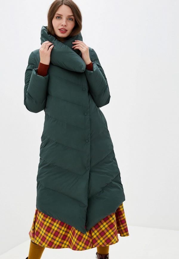 Пуховик  - зеленый цвет