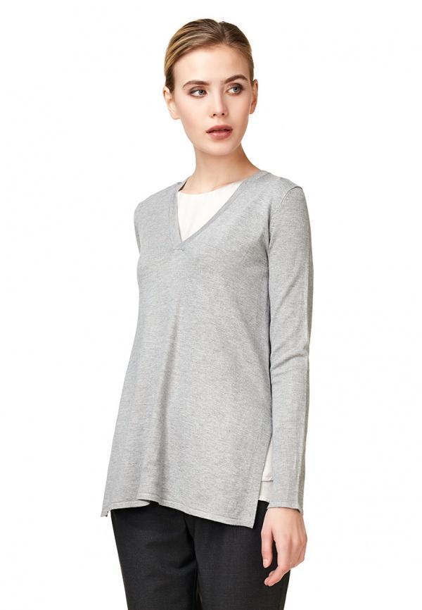 Пуловер  - серый цвет