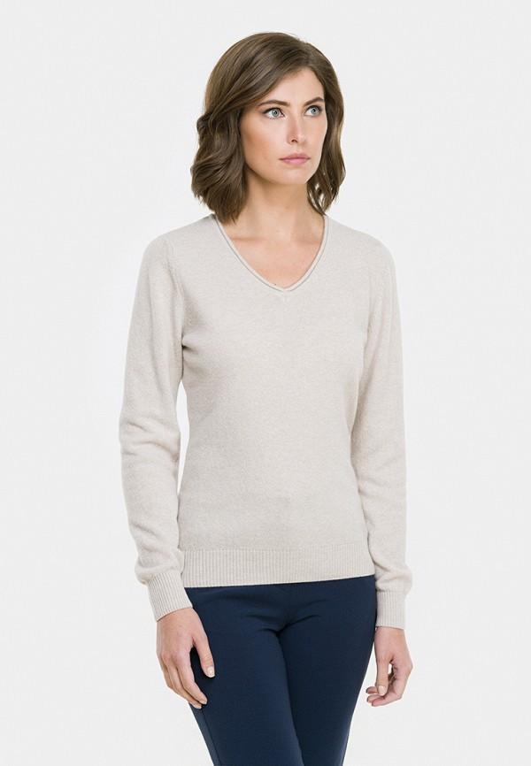 Пуловер  бежевый цвета
