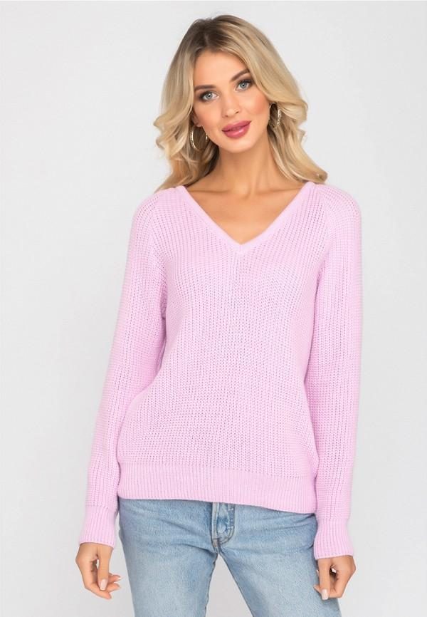 Пуловер  - розовый цвет