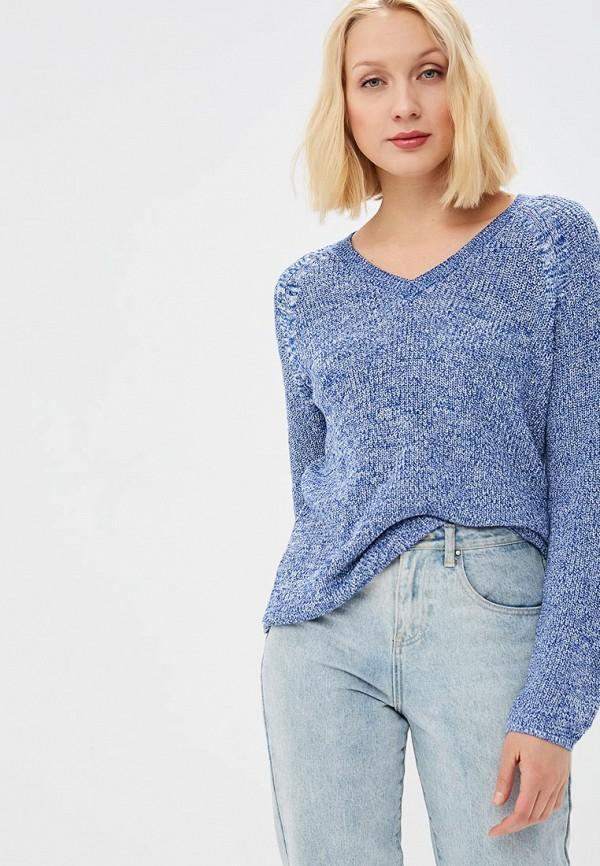 Пуловер  - синий цвет