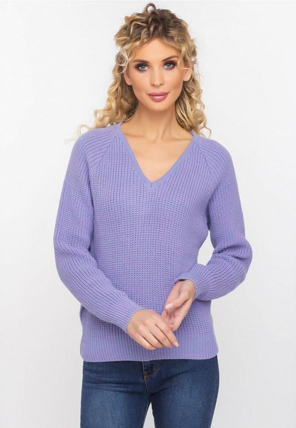 Пуловер  - фиолетовый цвет