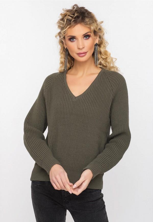 Пуловер  - хаки цвет