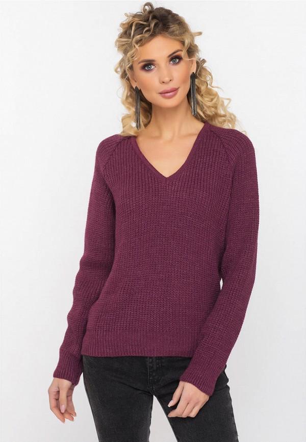 Пуловер  бордовый цвета