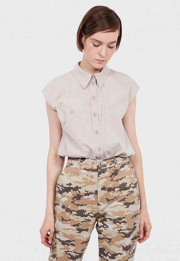 Рубашка  - бежевый цвет