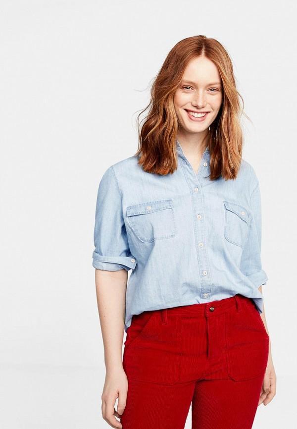 Рубашка  голубой цвета