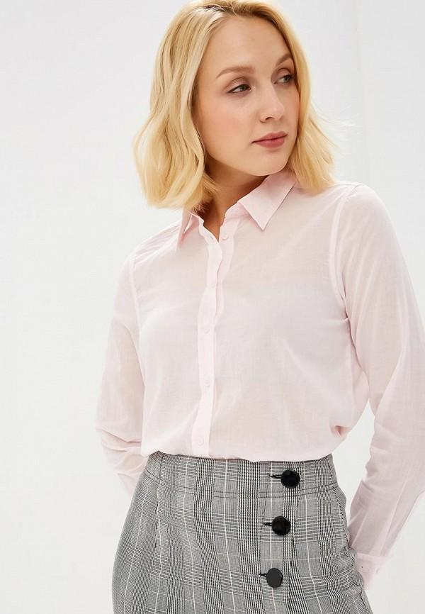 Рубашка  розовый цвета