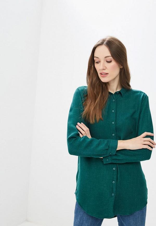 Рубашка  зеленый цвета