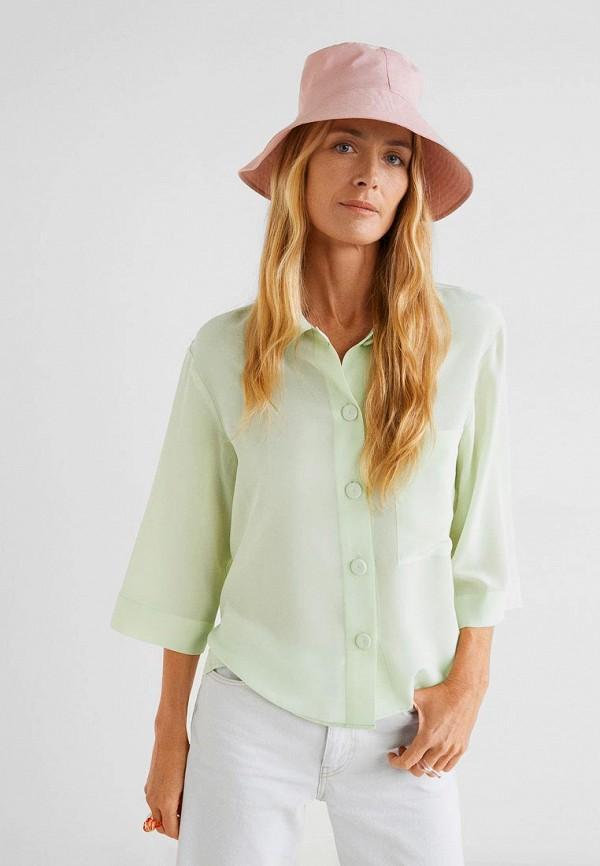 Рубашка  - зеленый цвет