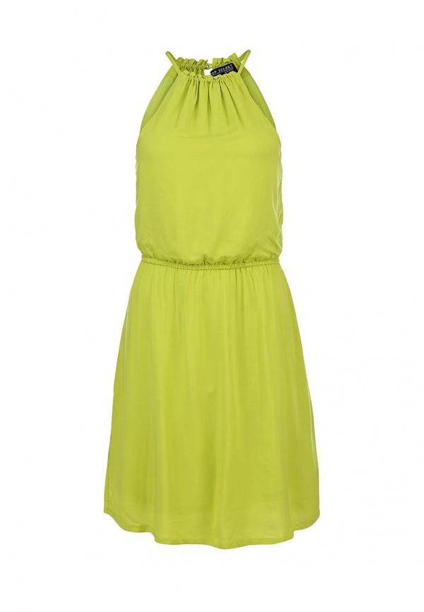 Сарафан  зеленый цвета