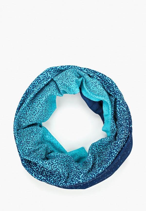Шарф  - синий цвет