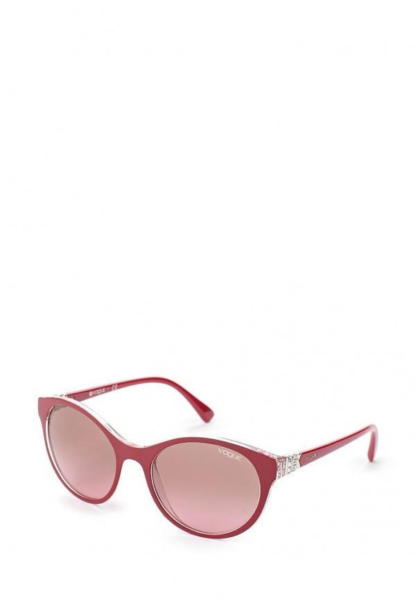 Солнцезащитные очки  Бордовый цвета