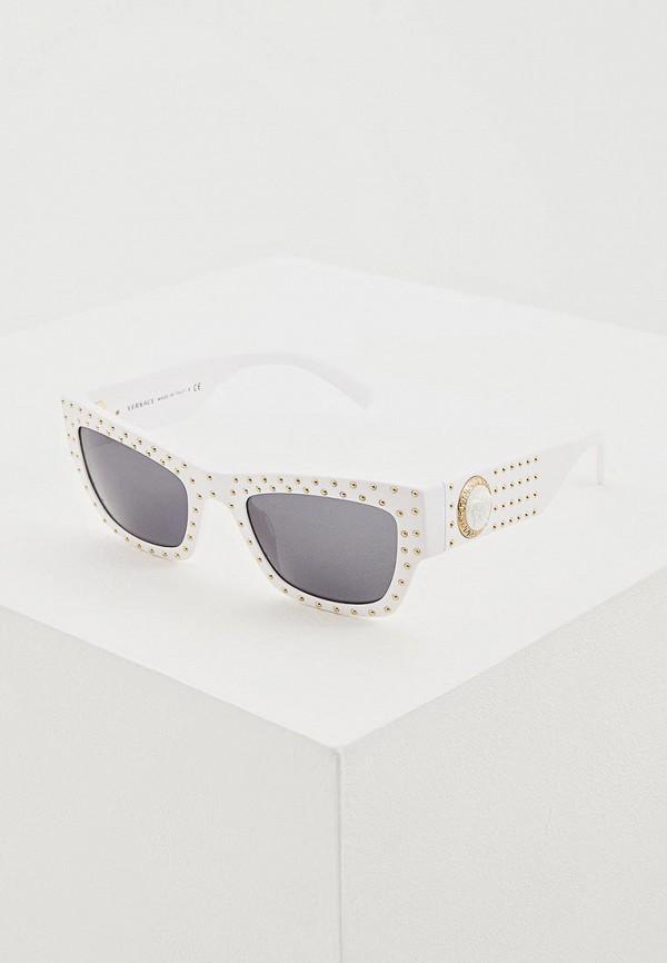 Солнцезащитные очки  белый цвета