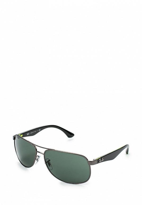 Солнцезащитные очки  - зеленый, серый цвет