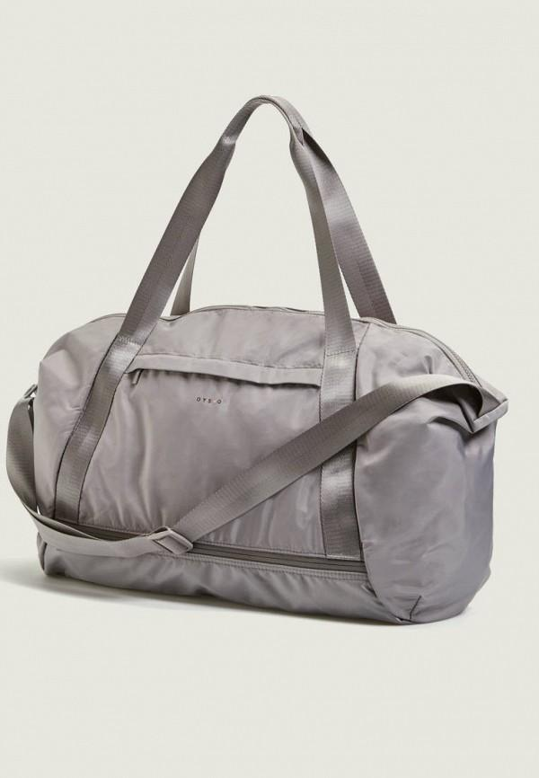 Спортивная сумка  - серый цвет