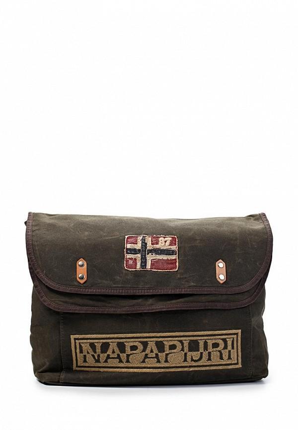 Спортивная сумка  - коричневый цвет